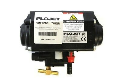 Flojet P5000551 Bag In Box Syrup CO2 Operated Beverage Pump T5000171 New