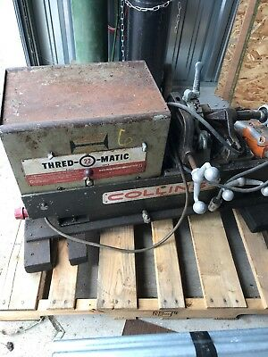Collins Pipe Threader  Thred O Matic  (Used)