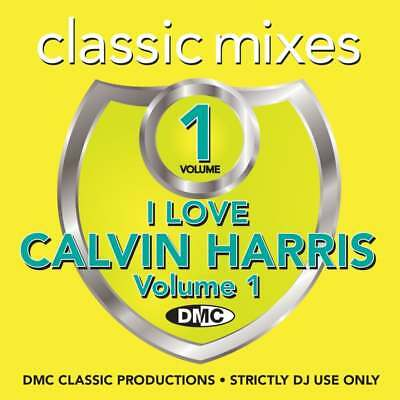I Love Calvin Harris Continuous Megamixes, Mixes & Two Trackers DJ CD ft Rihanna