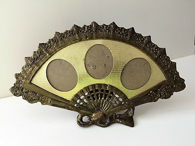 Vintage 1950s Picture Frame Fan Shaped Picture Frame