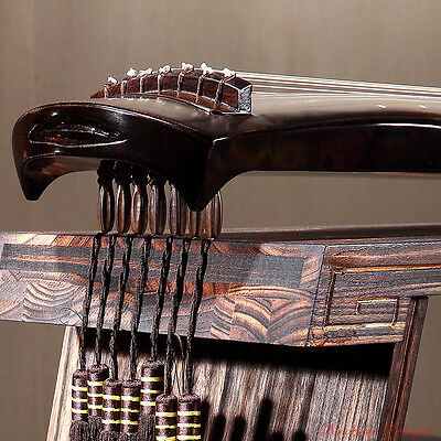 """48"""" Professional Guqin Chinese 7-stringed zither instrument - Fu-hsi Styley#2826"""