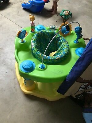 Evenflo Activity Centers Exersaucer Bounce and Learn Zoo Friends