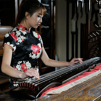 """48"""" Professional Guqin Chinese 7-stringed zither instrument -Fu-hsi Styley #2828"""