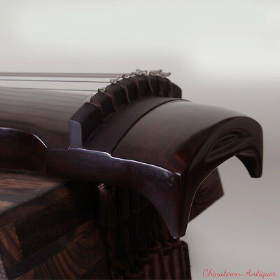 """48"""" Highest grade Guqin Chinese 7-stringed zither instrument -Zhong ni STL #2829"""