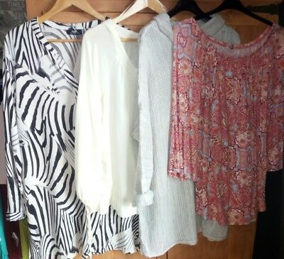 bundle of women's clothes Tops  Jumpers Size 18 20 size xl