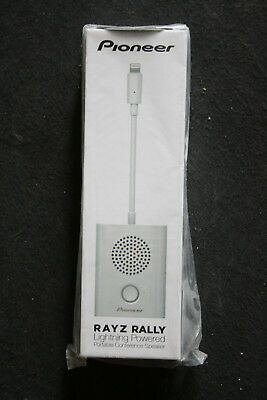 Pioneer Rayz Rally lightning powered, enceinte nomade pour téléconférence.