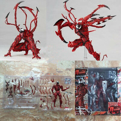 Revoltech Series AMAZING Spider Man Carnage Figure Toy Gift no box No.008 X/'mas