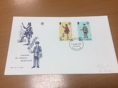 1979 Isle Of Man Postal Services First Day Cover