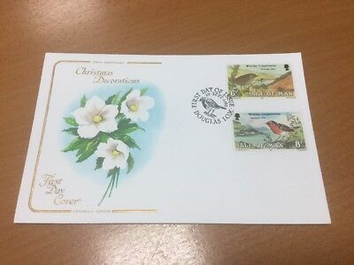 1980 Isle Of Man Christmas Cotswold First Day Cover
