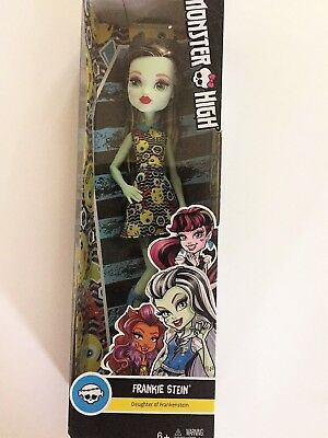 Monster High by Mattel Frankie Stein Doll, New
