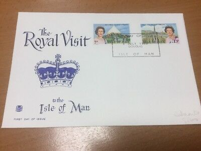 1970 Isle Of Man Royal Visit Stuart First Day Cover
