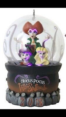 Disney Mickey's Not So Scary Halloween Party 2018 HOCUS POCUS Ornament