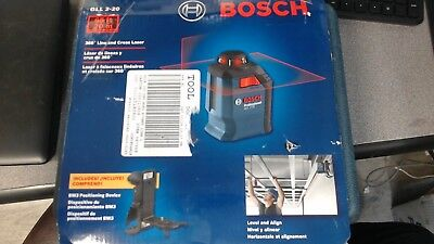 Bosch Professional GLL 2-20 360 Degree Self Leveling Line & Cross Laser