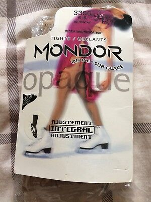 Mondor Over Boot Figure Ice Skating Tights Age 6 7 8 Years