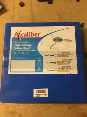Axcaliber panel raising cutter head, Spindle moulder, Joinery. NEW!! NO RESERVE!