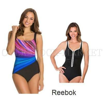 New! Women's Reebok One Piece Swimsuits! Variety Sizes, Colors & Styles!