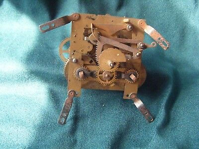 small vintage/antique mantel clock movement