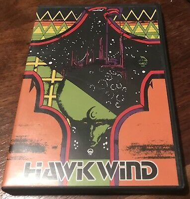 HAWKWIND Night Of The Hawks DVD LIVE IPSWICH Motorhead OOP Rare