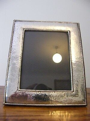 "A HALLMARKED BIRMINGHAM 1997 SOLID SILVER PHOTO PICTURE FRAME 7"" x 6"" INCHES"