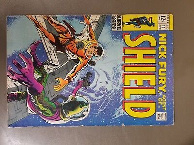 Nick Fury, Agent of SHIELD #11 (Apr 1969, Marvel), The Avengers, Silver Age