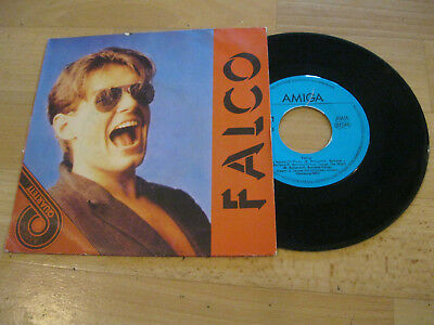 "7"" Single Falco Rock me Amadeus  Vinyl Amiga Quartett 5 56 155"