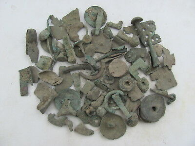 Huge Lot Ancient Bronze And Iron Artifacts/ Balkans