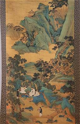 CHINESE SCROLL   20 th century