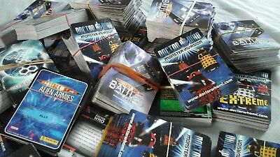 Doctor Who 200 different Trading Cards Battles In Time Monster Invasion etc