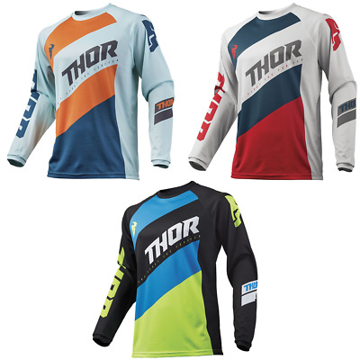 Thor Sector Shear Youth MX Motocross Offroad Jersey