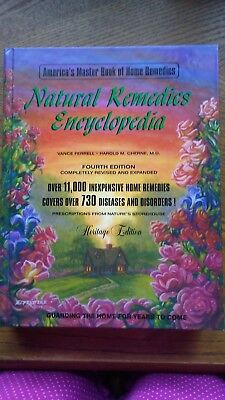 The Natural Remedies Encyclopedia Vance H. Ferrell 4th Edition  Homeopathic Book
