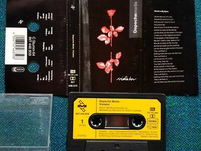 Depeche Mode, Violator, MC Musikkassette Tape Cassett 446.859