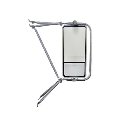 Deluxe Chrome Arm Assembly with West Coast Heated Mirror w/ Convex