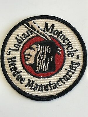 Indian Motocycle Hendee Manufacturing Patch - NOS from 1999 California Days