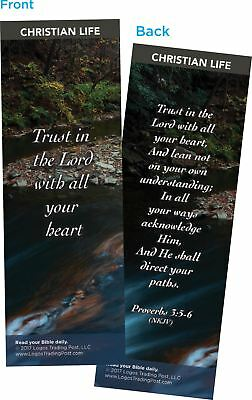 Trust in the Lord with All Your Heart Bookmarks, Pack of 25