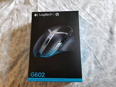 New Logitech G602 Lag-Free Wireless Gaming Mouse, 11 Programmable Buttons