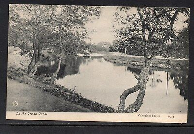 On The Crinnan Canal Used Card As Scanned