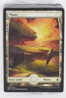 Battle for Zendikar Land Pack Full Art 80ct (ENGLISH) SEALED NEW MAGIC ABUGames
