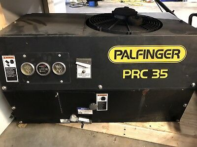 Palfinger PRC 35 Rotary Air Compressor 35CFM 175 Psi. 21 Hours , Works Great.