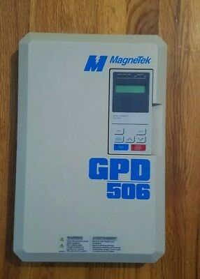 MAGNETEK GPD506V replacement front cover with controls.