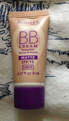 Rimmel BB Cream 9 in 1 Perfecting Super Makeup Matte Mini  SPF15 8ml