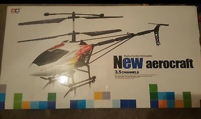 NEW aerocraft Radio Control Helikopter 3,5 Kanäle