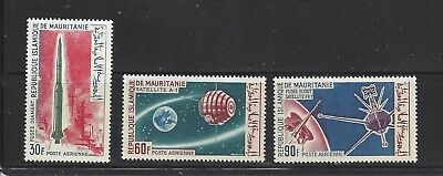 Mauritania - C44 - C46 - Mnh - 1966 - French Achievements In Space