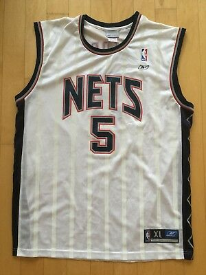118865b36 AUTHENTIC AUTOGRAPHED REEBOK Jason Kidd New Jersey Nets Nba Jersey ...