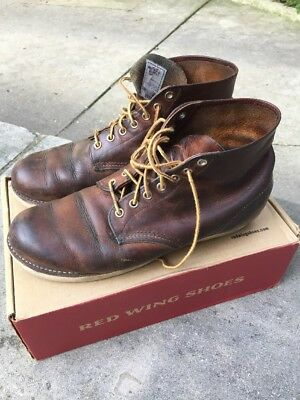 ac32c6a87bbb Red Wing boots 10.5 Mens Used 9111 Shoes Timberland Worn Look Pre Owned  Wings
