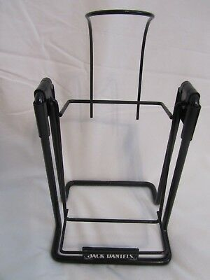 Jack Daniels Whiskey Old No 7 Brand Rocking Bottle Swing Cradle Holder 1.75 Lt