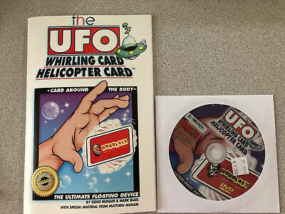 Houdini Magic Trick The UFO Whirling Card Helicopter Card Ultra Floating Object