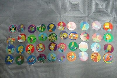 The Simpsons Magic Motion Complete Tazo Set Number 141 to 180
