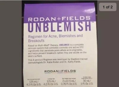 rodan and fields unblemish regimen