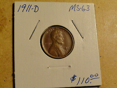 1911D Lincoln Cent #6392