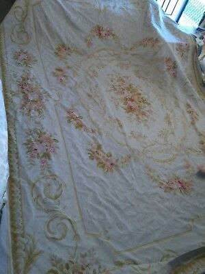 French Aubusson Rug 10/14 foot